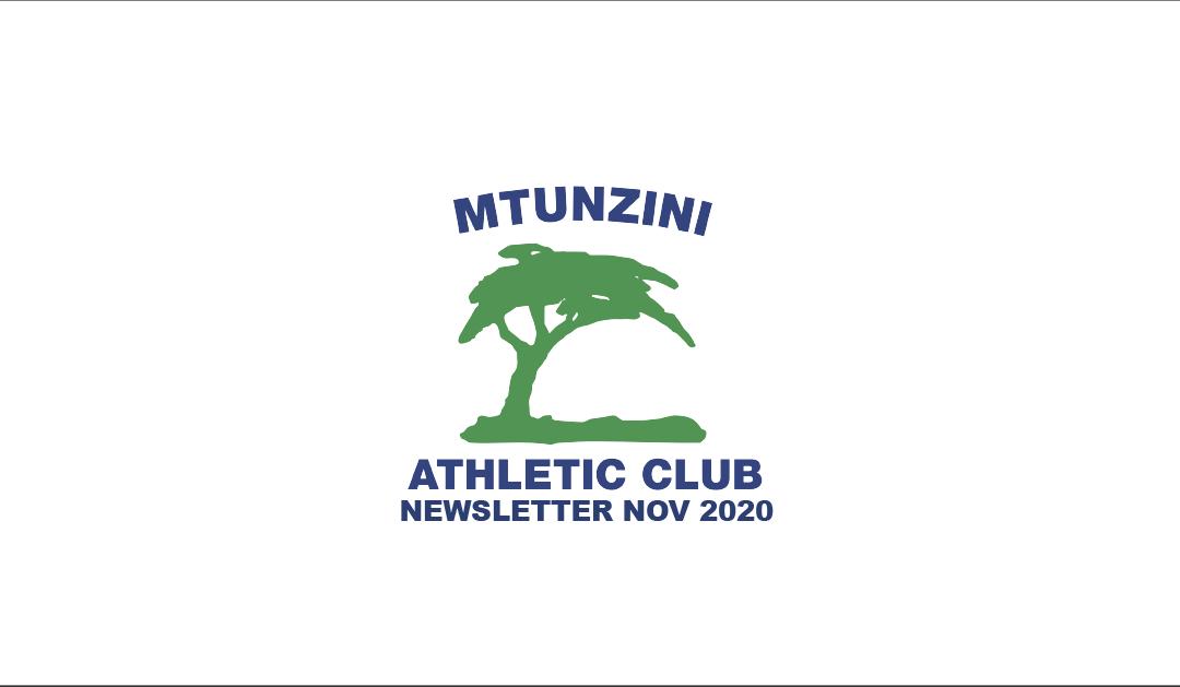 MAC Newsletter November 2020